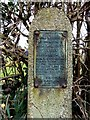 SD3300 : Commemorative Plaque by Norman Caesar