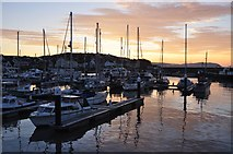 ST0743 : Watchet : The Harbour by Lewis Clarke