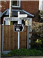 TM3793 : Roadsign on Yarmouth Road by Adrian Cable