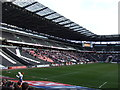 SP8735 : Peter Burrow  inside Stadium MK - Milton Keynes by Richard Humphrey