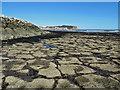 TA0587 : Rocky foreshore, low tide by Pauline E
