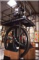 SX4086 : Dingles Steam Village - steam engine by Chris Allen
