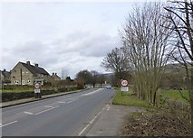 SK2572 : Approaching Baslow by Russel Wills