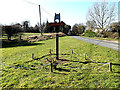 TM3689 : Mettingham Village sign by Adrian Cable