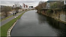 SE2833 : View from top of Lock 6, Spring Garden Lock, Leeds and Liverpool Canal by Chris Morgan
