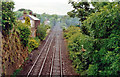 NY6565 : Site of former Greenhead station, 1997 by Ben Brooksbank