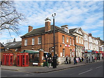 TQ3296 : Enfield Post Office, Church Street, EN2 by Mike Quinn