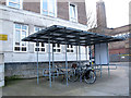 TQ3280 : Covered cycle parking by Stephen Craven