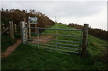 SX5646 : Entering Carswell Farm by jeff collins