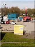 SD7807 : Car Park Expansion at Radcliffe Metrolink Station by David Dixon