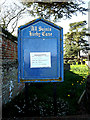 TM3794 : All Saints Church Notice Board by Adrian Cable