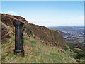 J3279 : Old boundary post, Belfast by Rossographer