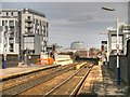SJ8398 : The Eastern End of Salford Central Railway Station by David Dixon