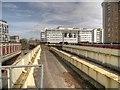 SJ8398 : Salford Central Railway Viaduct by David Dixon