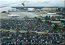 TQ0975 : Heathrow Airport from the air by Thomas Nugent