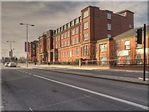 SJ8298 : Salford Royal, Chapel Street by David Dixon