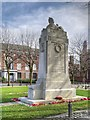 SJ8298 : Lancashire Fusiliers War Memorial, Albion Place by David Dixon