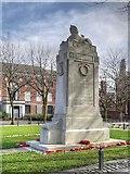 SJ8298 : Lancashire Fusiliers War Memorial, Albion Place by David Dixon