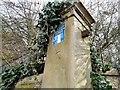 SJ8990 : Stockport Sunday School 1805-1970 (sign) by Gerald England