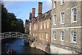 TL4458 : Queens' College and Mathematical Bridge by N Chadwick