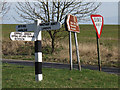 TL4403 : Road signs at a junction by Stephen Craven