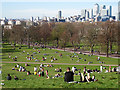 TQ3877 : Picnic weather in Greenwich Park by Stephen Craven