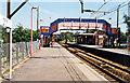 TQ8492 : Hockley (Essex) station, 1995 by Ben Brooksbank