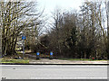 TM3692 : Bridleway to Station Road by Geographer