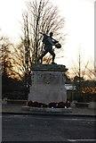 TL4557 : Hills Road War Memorial by N Chadwick