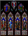 TQ8218 : East window, St George's church, Brede by Julian P Guffogg