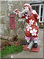 SZ4877 : Chale: disused postbox in Church Place by Chris Downer