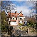 NJ9105 : 62 Rubislaw Den South, Aberdeen by Bill Harrison