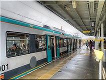 SD7807 : Radcliffe Metrolink Station, Inbound Platform by David Dixon