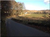 NN9952 : Minor road to Tulliemet by Steven Brown