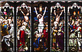 NT2573 : Stained glass window, St Giles Cathedral by William Starkey