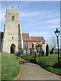 TM2743 : St Mary Newbourne by Keith Evans