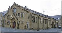 SE0924 : Halifax - former Drill Hall on Prescott Street by Dave Bevis