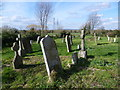 TQ7174 : St Mary's Churchyard, Higham, looking out to Higham Marshes by Marathon