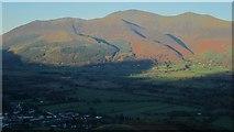 NY2427 : Looking towards the Skiddaw fells from Barrow by Graham Robson