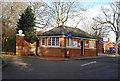 TQ7669 : Gatehouse Reception by N Chadwick