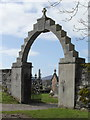 NR8398 : Memorial arch, Kilmartin church by sylvia duckworth