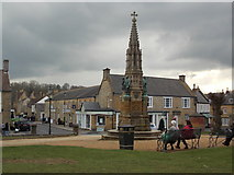 ST6316 : Sherborne: Wingfield Digby memorial and Digby Road by Chris Downer