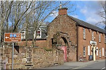 NS4927 : The Fairburn Hotel, Loudoun Street, Mauchline by Leslie Barrie