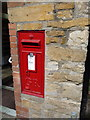 ST5814 : Bradford Abbas: postbox № DT9 40, Church Road by Chris Downer