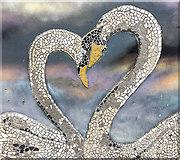 NT3294 : Mosaic at West Wemyss by William Starkey