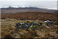 NC5837 : View south from Meall a' Bhrollaich by Dorothy Carse