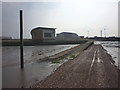 SD4264 : Slipway and ramp at Morecambe Lifeboat Station by Karl and Ali