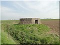 TM3079 : Pillbox in Metfield north-west of the old airfield by Adrian S Pye