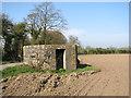 TM2579 : WW2 pillbox beside Mill Lane by Evelyn Simak