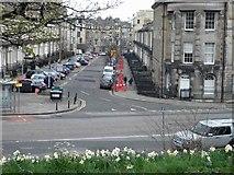 NT2674 : Windsor Street Edinburgh from Royal Terrace by Steve  Fareham